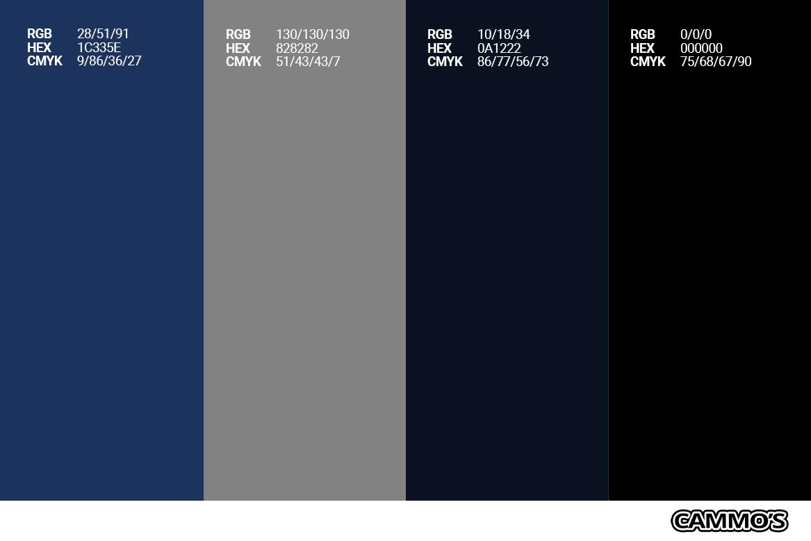 CAD Colour Pallete