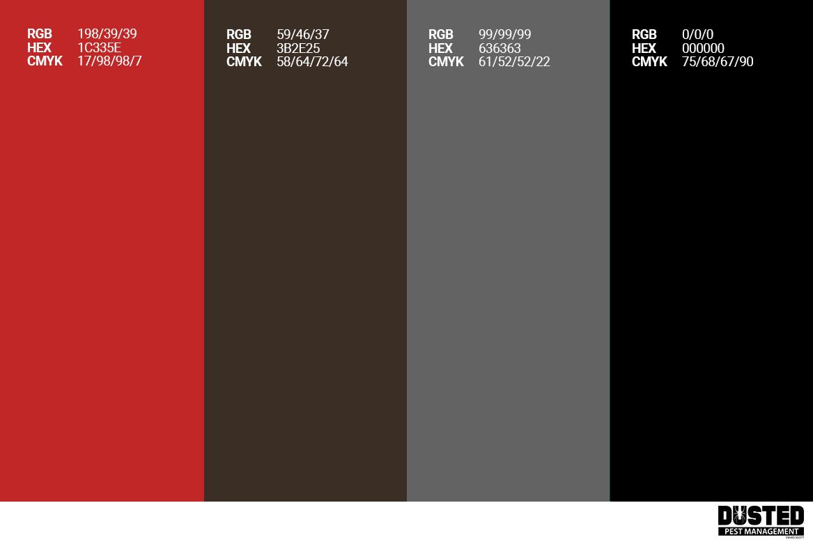 Dusted Colour Palette
