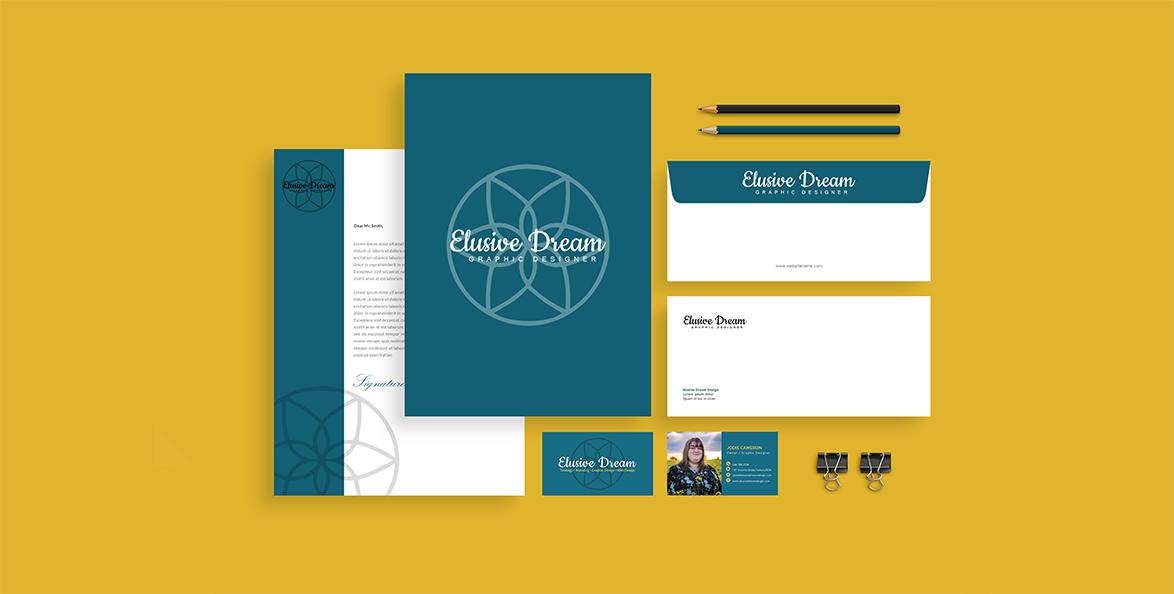 Elusive Dream Design Branding 1